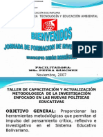 Metodologia de La Investigacion VIII