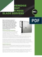 Server Poweredge m805 m905 Specs En