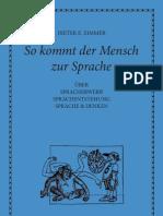 Zimmer_Dieter E. - So Kommt Der Mensch Zur Sprache