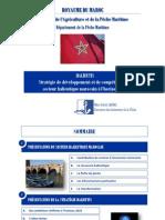 HALIEUTIS Stratégie de développement et de compétitivité du secteur halieutique marocain à l'horizon 2020