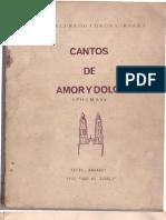 Cantos de Amor y Dolor Alfredo Corona Ibarra
