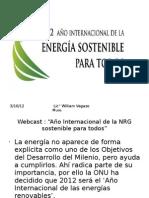 energía sostenble para todos