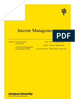 Interim Management