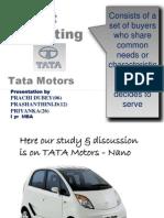 Target Marketing Tata Motors-Nano1