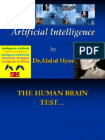 Artificial Intelligence-Abdul Hyee