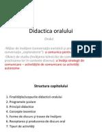 didactica oralului