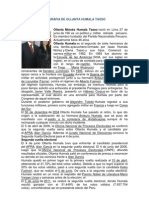 Biografia de Ollanta Humala Tasso