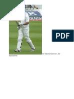 The Dejected Batsman