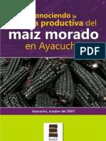 Cadena Productiva de Maiz Morado