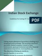 Indian Stock Exchange