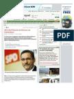 Strahlenfolter - SPD-Chef Platzeck mit Hörsturz im Krankenhaus - www-morgenpost-de