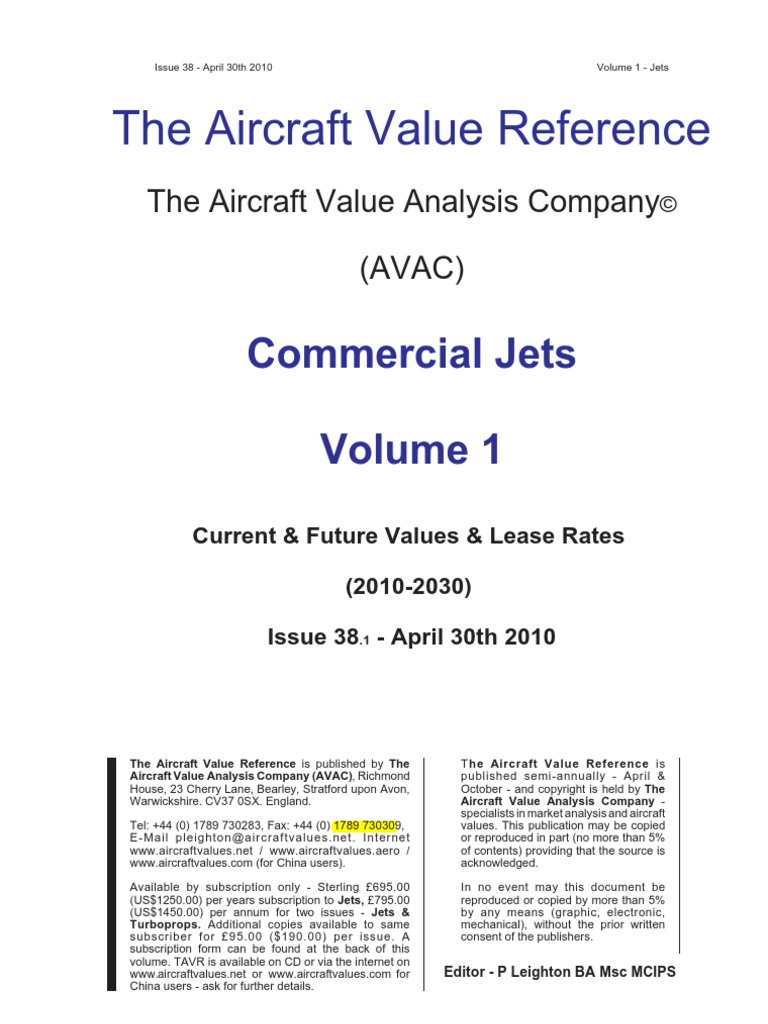 Aircraft Value | Airbus | Lease