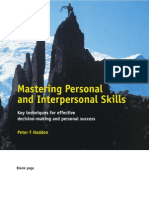 Mastering Personal and Interpersonal Skills (2)