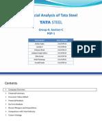 Sec-C Grp-9 Company Analysis Tata Steel