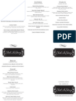 6 Catering Menus - Check in Catering