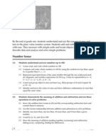 Math Standards Adopted 1997 1