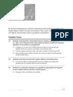 Math Standards Adopted 1997 K