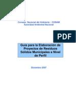 Guia_residuos_snip_conam Caso Practico y Plantilla