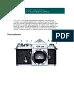 Nikon f Manual
