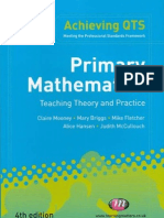 Primary Mathematics Teaching Theory and Practice