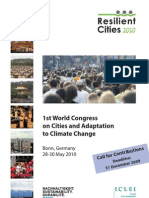 Article in Resilient Cities