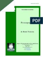 Bento Teixeira - Prosopopéia (1601)