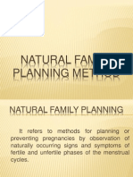 Natural Family Planning Method