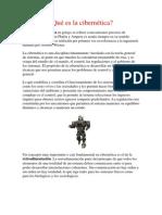 Telecomunicaciones Robotica y Cibernetica
