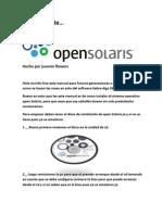 79835281 Manual de Instalacion de Open Solaris Juas Juas