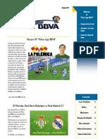 Boletin Palco Liga BBVA 6ª Edicion IMPRIMIR