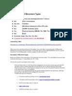 MM - Movement Type