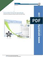 Excel - Guia Aprendizaje Semana 4