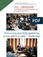 Revista Crisalide - martie 2012