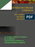 ANESTESIA CARDIACA 1