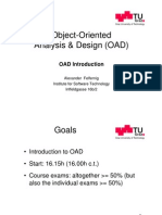 Oad Vorlesung 01 Introduction