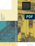 Mount Vernon Square Historic District Brochure (DC Office of Planning)