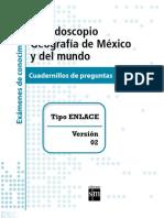 Geografia - Caleidoscopio Examenes Tipo Enlace