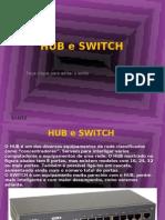 Hub, Bridge e Switch