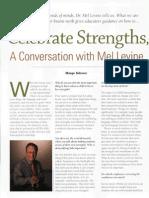 Multiple Intelligences Celebrate Strengths