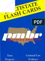 PMBR Flash Cards - Contracts - 2007