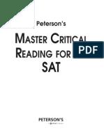 Sat Critical Reading