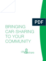 Bringing Car SHaring to Your Community (CityCarShare 2004)
