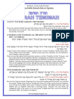 Toldos Selections from Rabbi Baruch Epstein