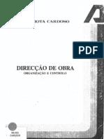 Direcção de Obra_J M Mota Cardoso