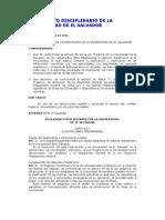 Reglamento Disciplinario UES
