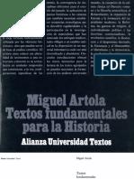 Artola, Miguel - Textos Fund Amen Tales Para La Historia