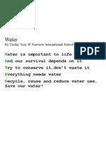 FIS 4F Water Poem Trisha0809