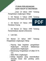 Peraturan Perundangan Lingkungan Hidup Di Indonesia