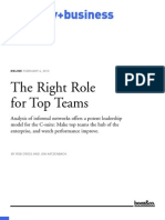 00103 Right Role for Top Teams