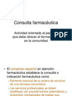 Consulta farmacéutica